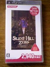 PSP Silent Hill Zero Konami The Best New Japan F/S