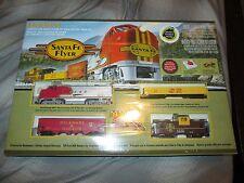 Santa Fe Flyer Bachmann HO Ready to Run Electric Train Set 00647