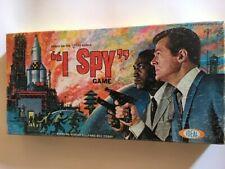 VINTAGE 1965 I SPY TV SHOW Board Game Ideal Bill Cosby Robert Culp