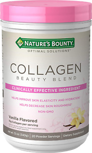 Collagen Beauty Blend by Nature's Bounty Optimal Solutions, Dietary Supplement,