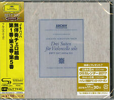 PIERRE FOURNIER-JS.BACH SUITES FOR VIOLONCELLO SOLO NO1 NO3 NO5-JAPAN SHM-CD D46