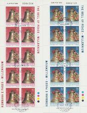 Albania Albania - 2000 anno duemila Millennium 2720-21 piccoli archi gestempel