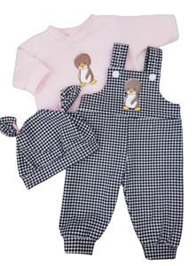 VANABU® Puppenkleidung Set für 30, 32, 33, 36, 38, 40, 42, 43 cm Puppen