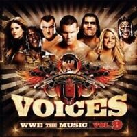 VOICES - WWE THE MUSIC VOL. 9 CD 16 TRACKS NEW!