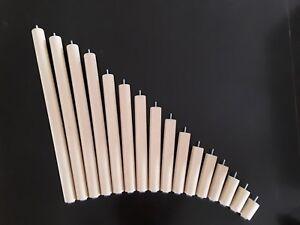Tischbein Möbelfüße Holzbeine Tischbeine Buche L 8-75cm inkl.Zubehör montiert