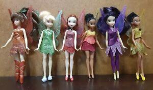 (6) Disney Pirate Fairy Tinkerbell Play Set Figurine