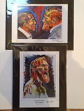 Both Jose Aldo Vs Conor McGregor  & McGregor Art Print By Patrick J. Killian