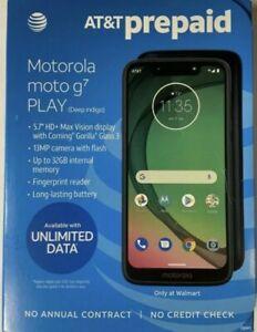 Motorola Moto G7 Play - 32GB - Deep Indigo (AT&T)