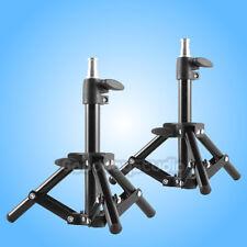2PCS Table Top 42cm Photo Mini Light Stand Tripod for Studio Lighting