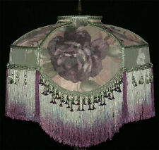 VICTORIAN LAMP SHADE CROSCILL CHAMBORD  CASSIS Fabric *