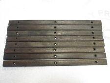 "Chris Craft Boat Teak Wood Deck Wall Insert Trim 13 3/8""  x  3/4"""