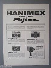 R&L Ex-Mag Advert: Hanimex, Fujica Half, 35EE, Fujicarex II, Fujica -8