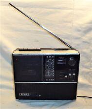 VINTAGE 1969 AIWA TPR 201 SHORTWAVE MULTIBAND RADIO CASSETTE PLAYER JAPAN