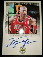 MICHAEL JORDAN Upper Deck Authentics Reprint Auto Autograph Basketball Card
