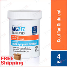 MG217 Psoriasis Treatment Cream 2% Coal Tar Multi-Symptom Relief Ointment 4 oz