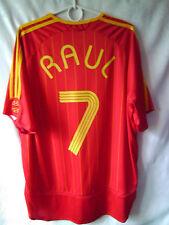 RARE!!! EXCELLENT!!! RAUL !!! 2006-08 Spain Home Shirt XL or M