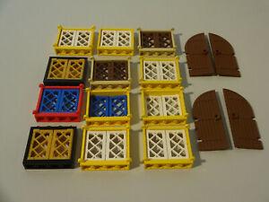 (1) Lego Türen & Fenster Piratenschiff Ritterburg 6086 6090 6271 6280 6285 6286
