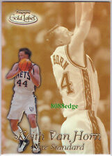 1999-00 TOPPS GOLD LABEL NEW STANDARD: KEITH VAN HORN #NS7 NEW JERSEY NETS