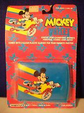 MICKEY MOUSE WALLET VINTAGE WALT DISNEY COMPANY IMAGININGS 3 TOUR DE SCOOTER HTF