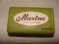 Vintage & Rare Maxine Complexion Soap Bar 3.5 oz NOS Swift Chemical Co.