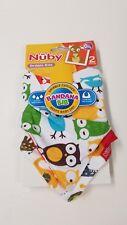 NIP Nuby Baby OWLS ANIMALS Soft Bibs Reversible Baby Dribble Bandana Bib  2 Pack