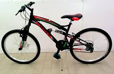 """Bicicletta Mountain bike """"BOLT"""" - Cambio 18 velocità - Ruota 24"""""""