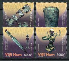 Vietnam 2018 MNH National Treasures Bronze Artefacts 4v Set Cultures Art Stamps