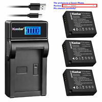 DMW-BLE9 Battery or Charger for Panasonic Lumix DMC-LX100 II,  DMC-LX100 Mark 2