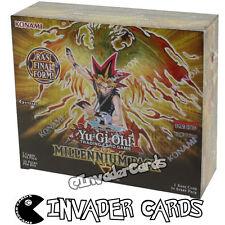 YuGiOh Millennium MIL1 1st Edition English Booster Box 36 Pack Konami New Sealed