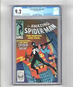 Amazing Spider-Man 252 and 616 CGC graded 1st black costume