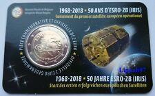 België speciale 2 euro 2018 ESRO-2B (IRIS) satelliet in Coincard Waals