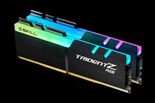 G.skill DDR4-3200 32GB(2x16GB)[Trident Z RGB]Desktop F4-3200C14D-32GTZR for Z270