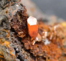 Wulfénite - Micromount - 40 grammes - Adami #2 Mine, Lavrion District, Grèce