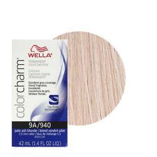 Wella Color charm 9A Pale Ash Blonde Professional Hair Colour Dye