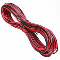 20 METERS 2 CORE RED AND BLACK HIFI CABLE CAR AUTO BOAT AUDIO LOUD SPEAKER WIRE