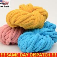 Thick DIY Chunky Wool Yarn Super Soft Bulky Arm Knitting Wool Roving Crocheting