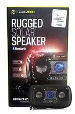 Goal Zero Rock Out 2 Solar Rechargeable Speaker (Color: Black). Reg:$129.99