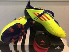 Adidas f50 Adizero TRX Fg Fußball Stollen Größe 10