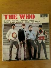 The Who ‎– A Legal Matter