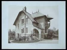 REIMS, PAVILLON DE GARDE - 1911 - PLANCHE ARCHITECTURE - LOUIS SOREL,