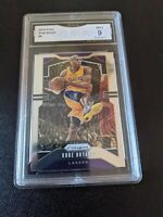 2019 Panini Prizm Kobe Bryant #8 GMA 9 MINT Los Angeles Lakers