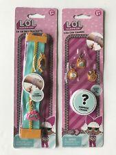 LOL Surprise Doll Miss Baby Za Za Zips Bracelet Cha Cha Charms Set
