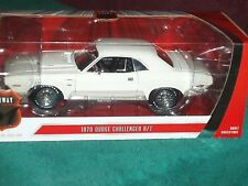 HIGHWAY 61 1970 DODGE CHALLENGER R/T COUPE 1/18 WHITE