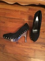 Dolce Vita Women's Heels Black Size 7.5 with 4 Inch Heels