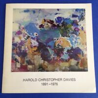 HAROLD CHRISTOPHER DAVIES 1891-1976 exhibition CALIFORNIA Modern Abstract art