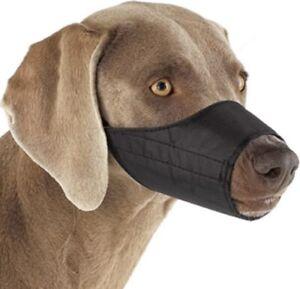 Nylon Mesh Muzzle Black Dogs Size 2 Ideal For Beagle Cocker Spaniel