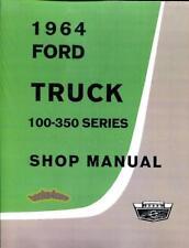 FORD TRUCK SHOP MANUAL 1964 SERVICE REPAIR BOOK F100 F250 F350 PICK-UP F150 FORD