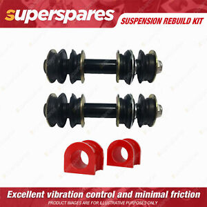 Front Sway Bar Link + 25mm Sway Mount Bushes kit for TOYOTA ECHO NCP10 NCP12