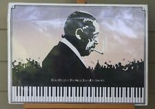 Duke Ellington The Music Lives On 1899-1974 Vintage Foliograph Poster Rare