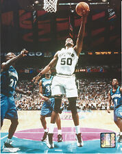 DAVID ROBINSON SPURS 8 X 10 PHOTO WITH ULTRA PRO TOPLOADER